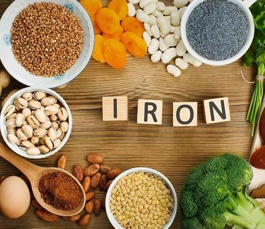 Reduce iron intake